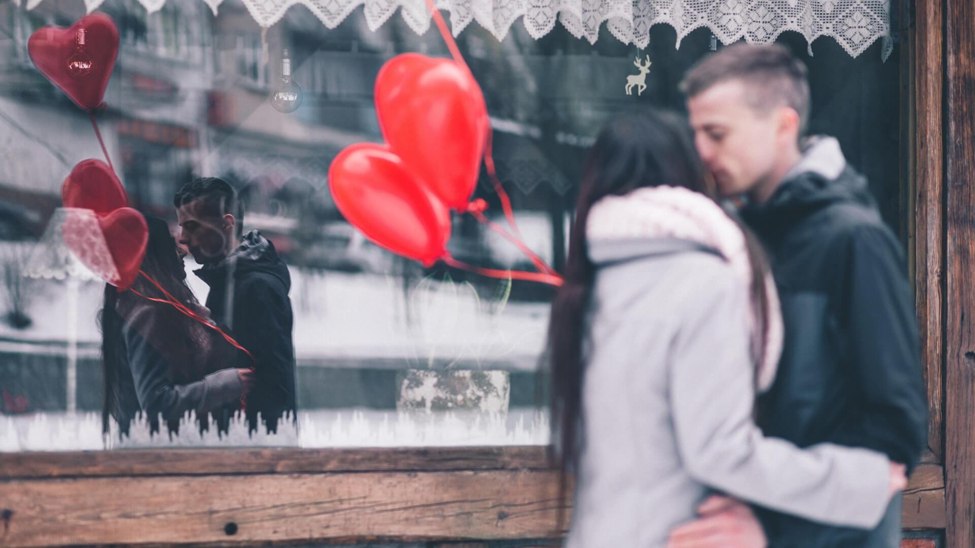 Valentinstag und Romantik heute