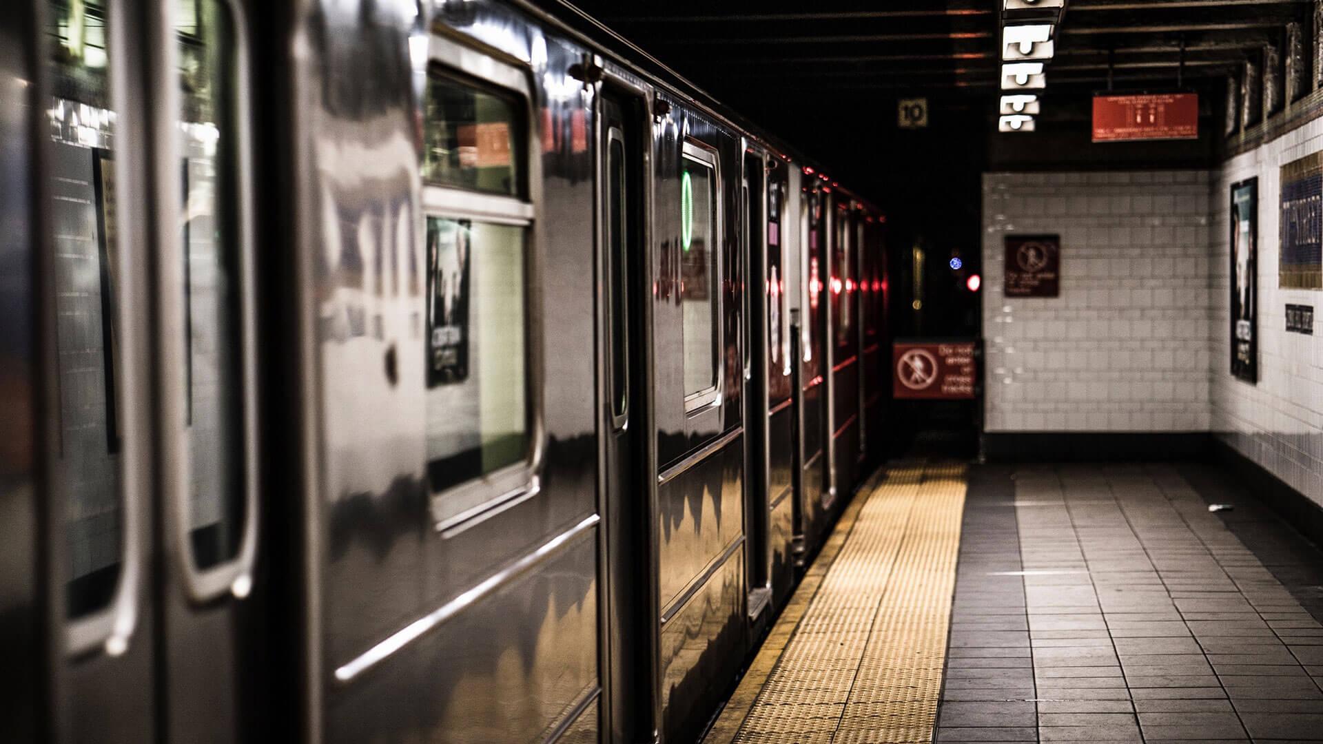 Rücksichtnehmen in der U-Bahn
