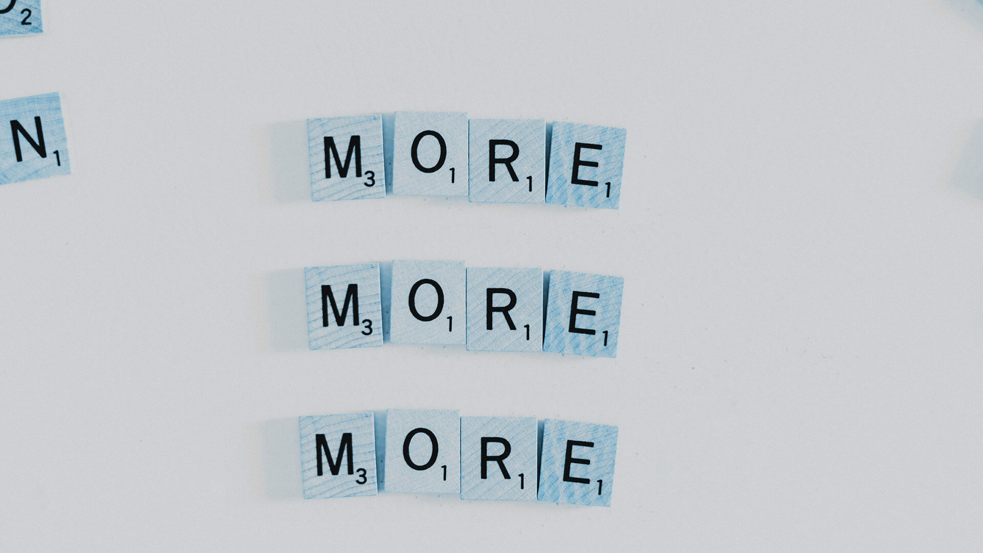 Gier: More More More Scrabble