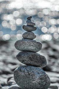 Balance gut und böse