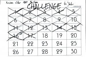 Selbstsabotage: Mein Challenge Kalender